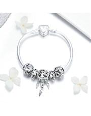 Silver Tree Of Life Dream Catcher Bracelet. Get th