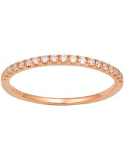 9KT 0.17ct Pave Diamond Eternity Band, set with sm