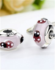 Sterling Silver 925 Pandora Compatible White and r
