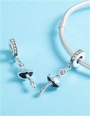 Sterling Silver 925 Pandora Compatible Dancing Bal