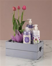 Mothers Day Tulip Bath & Body Crate