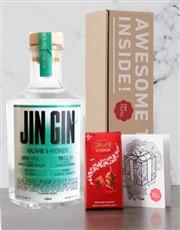 JIN GIN OLIVE & HONEY GIN 750ML X1