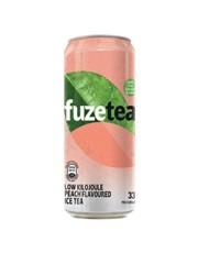 FUZE ICE TEA PEACH 330ML.