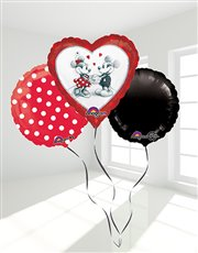 I love you like Mickey Loves Minnie Bouquet