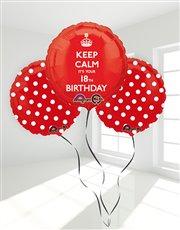 18th Birthday Balloon Bouquet