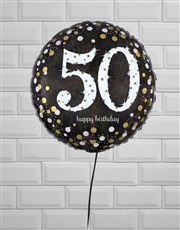 Sparkling 50th Birthday Jumbo