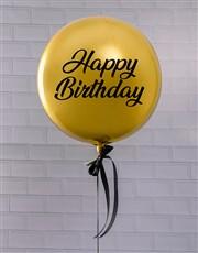 Golden Celebrations Balloon Gift