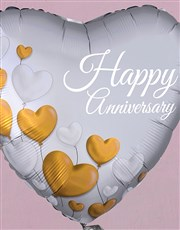 Happy Anniversary Balloon Gift