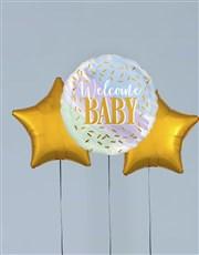 Welcome Baby Balloon Gift