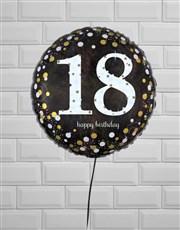 Ecstatic Eighteenth Birthday Balloon