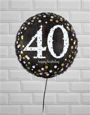Fantastic Fortieth Birthday Balloon