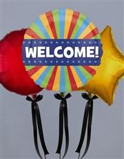 Warmest Welcome Balloon Gift