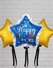 Birthday Super Star Balloon Gift