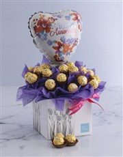 Lilac Happy Anniversary Edible Arrangement
