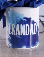Star Grandad Arrangement in Mug