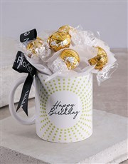 Luxurious Chocolate Birthday Arrangement