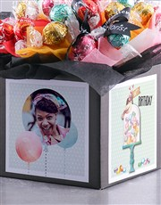 Personalised Happy Birthday Lindt Box
