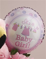 New Baby Girl Edible Arrangement