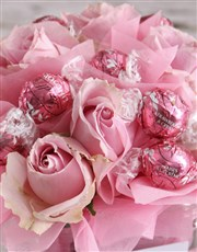 Pretty Pink Edible Arrangement