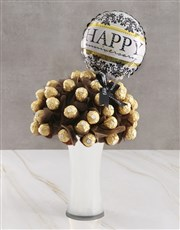 Gold Ferrero Edible Arrangement