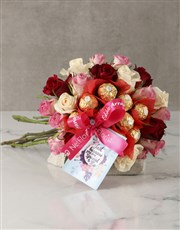 Mixed Roses Special to Me Edible Arrangement