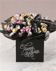 Refined Lindt Truffle Birthday Bouquet