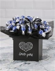 Love You Dark Choc Lindt Bouquet