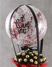 Chocolate Love Balloon Hamper