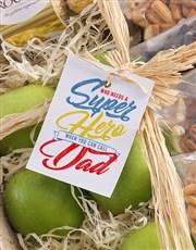 Superhero Fruit Basket for Dad