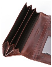 A must-have item is a clutch purse with lots of pl