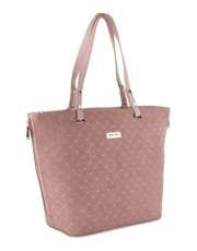 This stunning Tote is available in Blue and Pink t