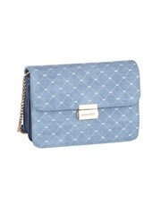 The Flap Over Sling which is available in Blue and