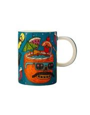 Mulga the Artist Mug Coconut