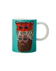 Mulga the Artist Mug Tiger Man