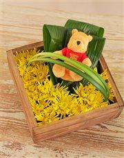 Bright Winnie the Pooh Flower Box