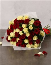Queen of Hearts Rose Bouquet