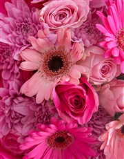 Baby Girl Pink Florals
