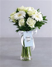 Personalised Welcome to the World Arrangement