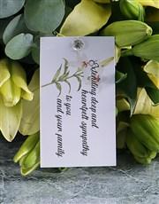 Lily Bouquet Of Condolences