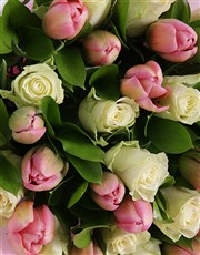 Delicate Tulips Bouquet