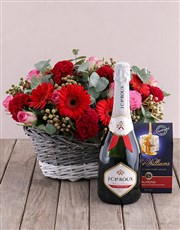 Treat Me Flower Hamper