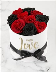 Fairytale Red and Black Roses