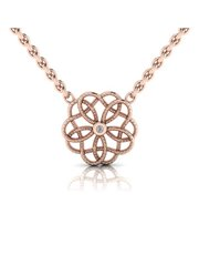 Sterling Silver 925 WHY Intertwined Floral Motif S