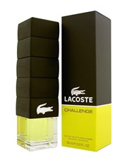 Lacoste Challenge subtly blends citrus and ginger