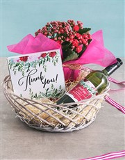 Thank You Flower Hamper