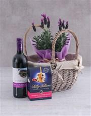 Lavender and Liquor Basket