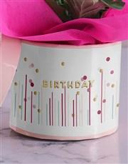 Happy Dotty Birthday Gerbera
