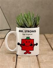 Mr Strong Succulent Mug