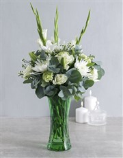 Serenity Flowers in Vase