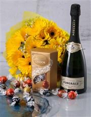 Sunshine Gerbera Daisy Bouquet